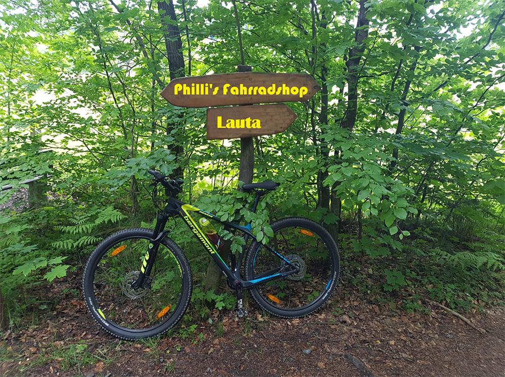 Philli´s Fahrradshop in Lauta